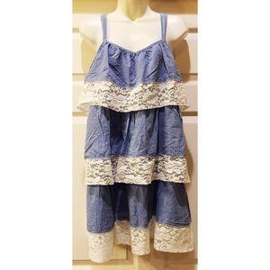 H&M Cotton/Lace dress.💐